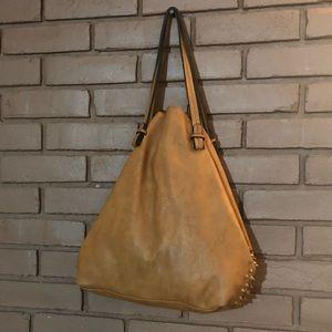 Balibag Large Leather studded Tote Bag